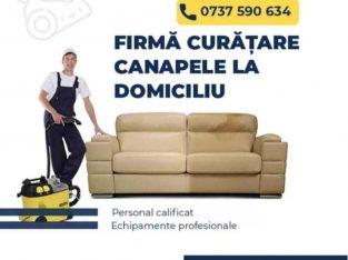 Curatare profesionala pentru canapele si saltele