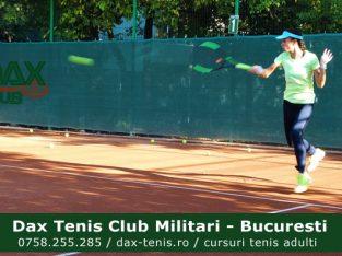 Cursuri tenis copii. Prima lectie este gratuita