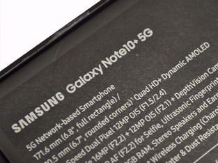 Vand Samsung Note 10+ 5g black impecabil NOU